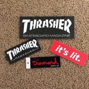 Hype Brand Stickers
